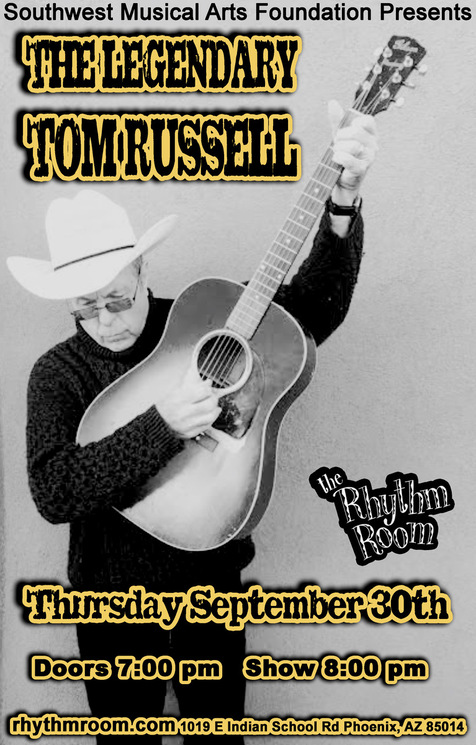 The Legendary Tom Russell: CANCELLED:
