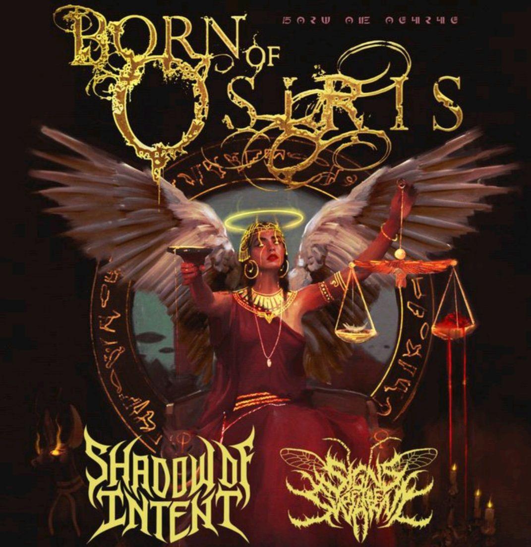 Born Of Osiris - Angel Or Alien Tour: