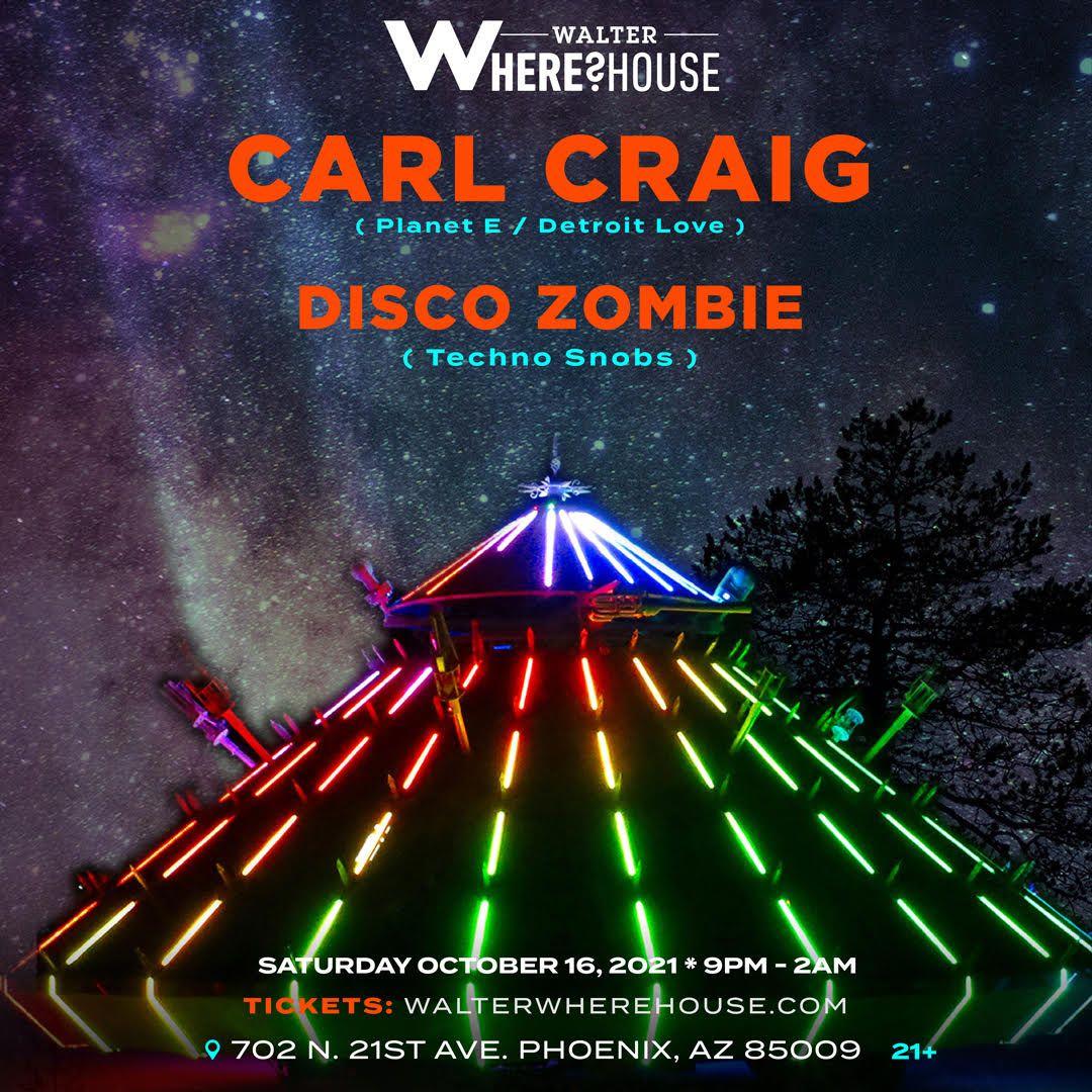 Carl Craig at Walter Where?House: