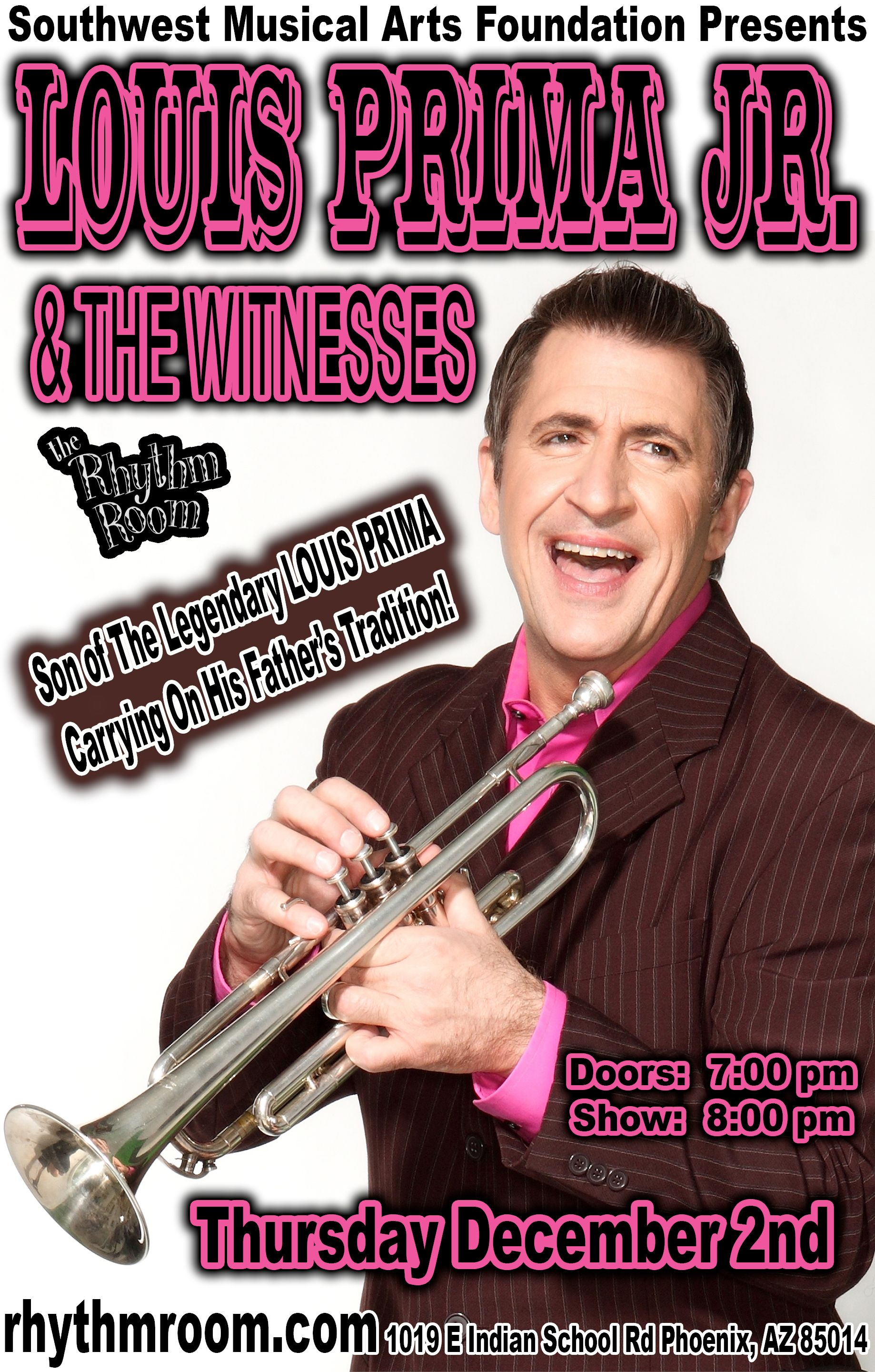 Louis Prima Jr and the Witnesses: