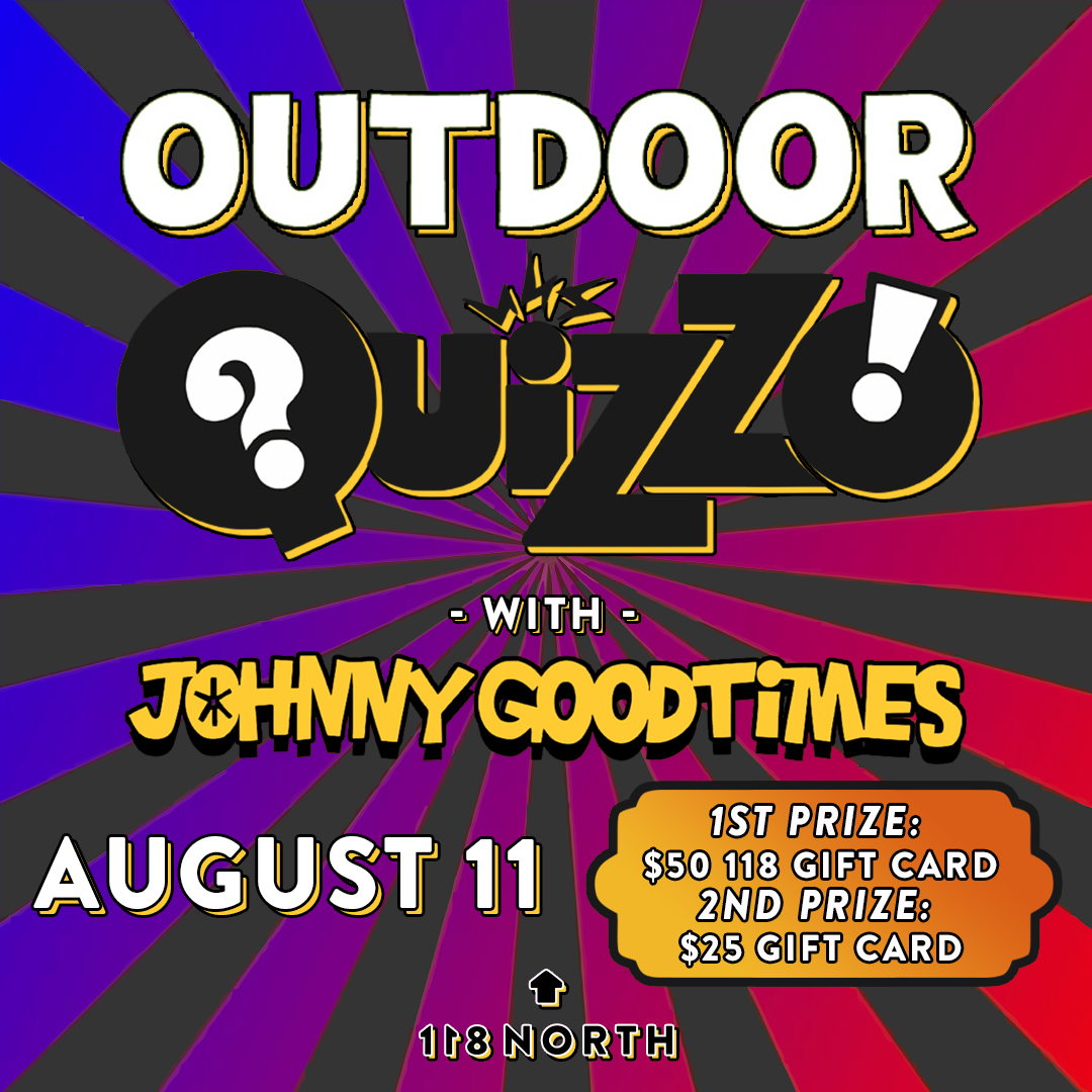 Outdoor Quizzo with Johnny Goodtimes: