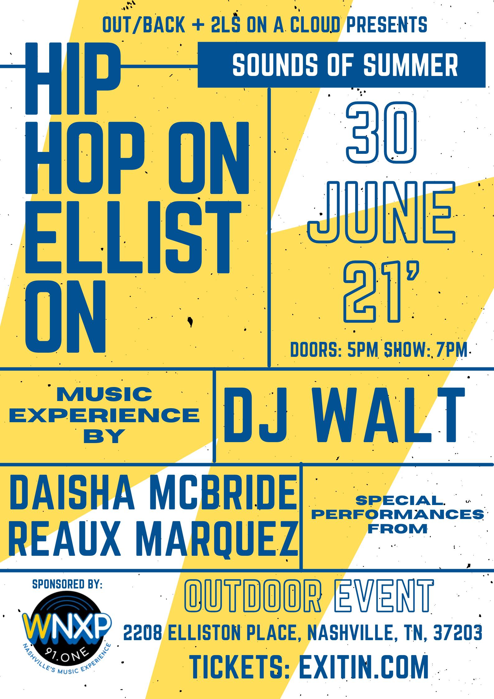 Hip Hop on Elliston: Main Image