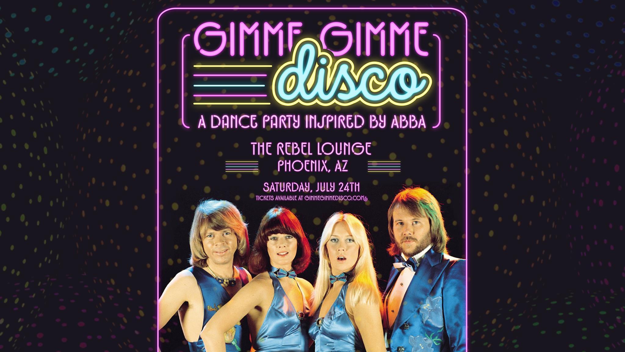 GIMME GIMME DISCO: Main Image