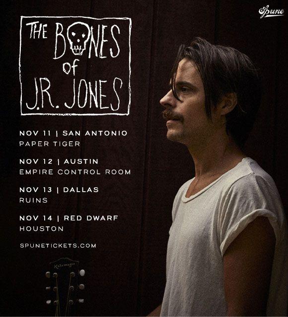 POSTPONED: The Bones of J.R. Jones: