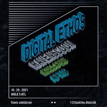 Digital Ethos, Ravenscoon, Kollapse, Aptic at Aisle 5-img