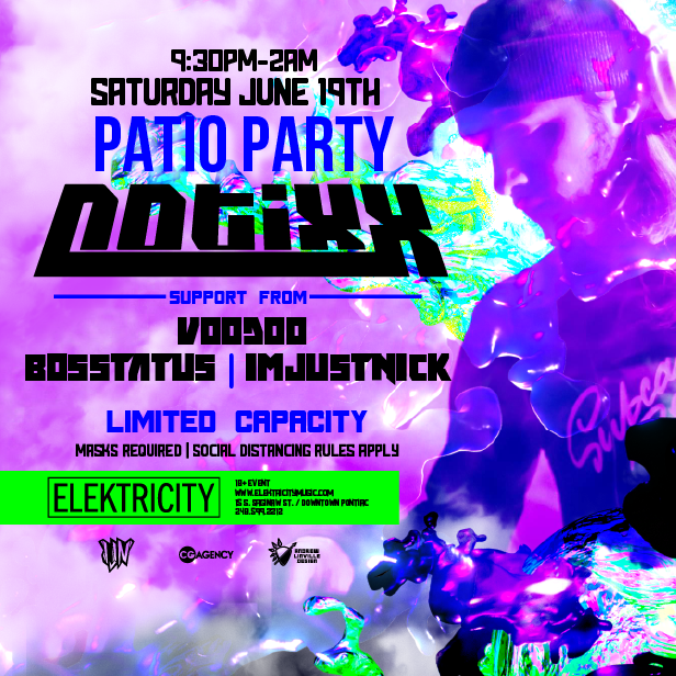 NOTIXX: PATIO PARTY: Main Image