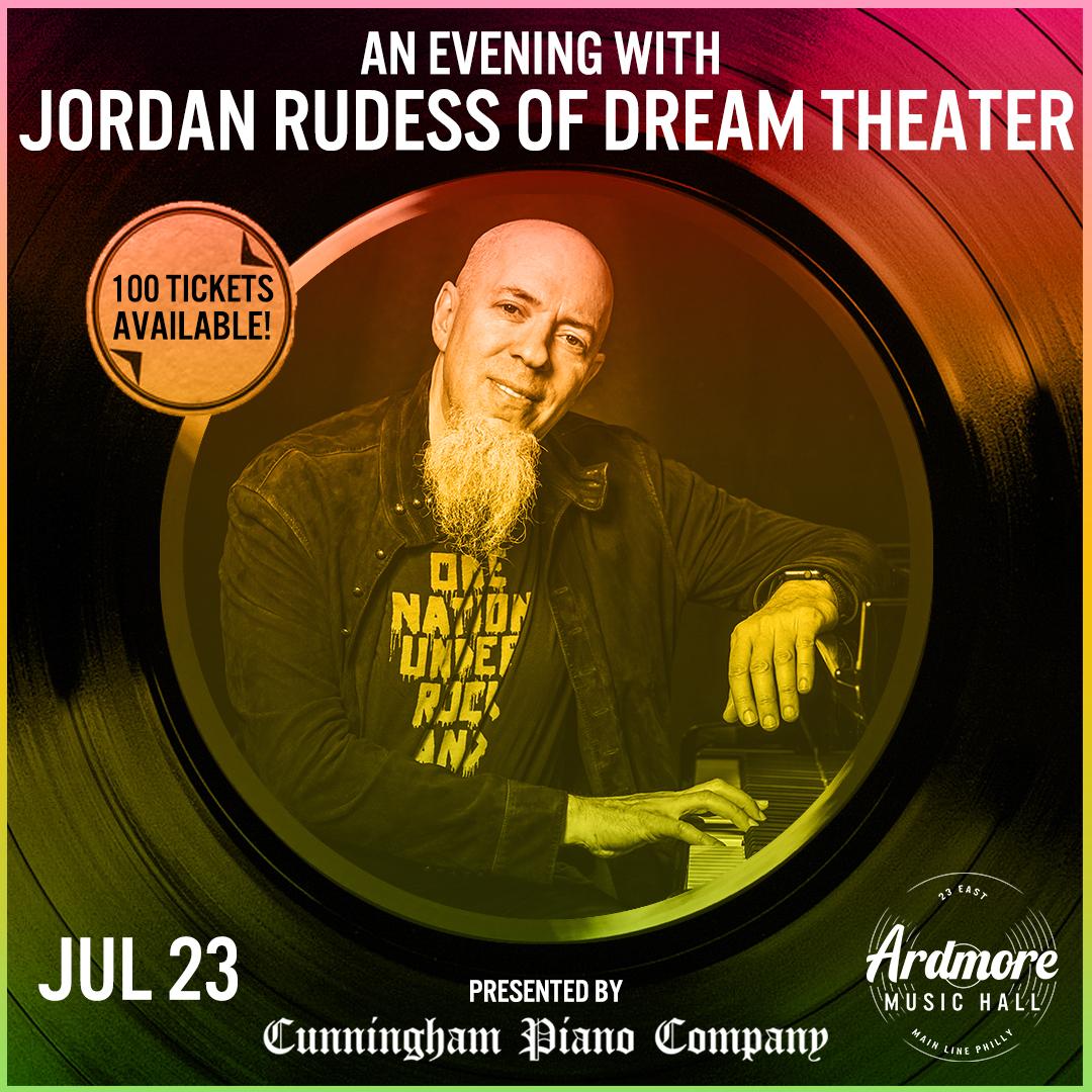 An Evening With Jordan Rudess (of Dream Theater): Main Image