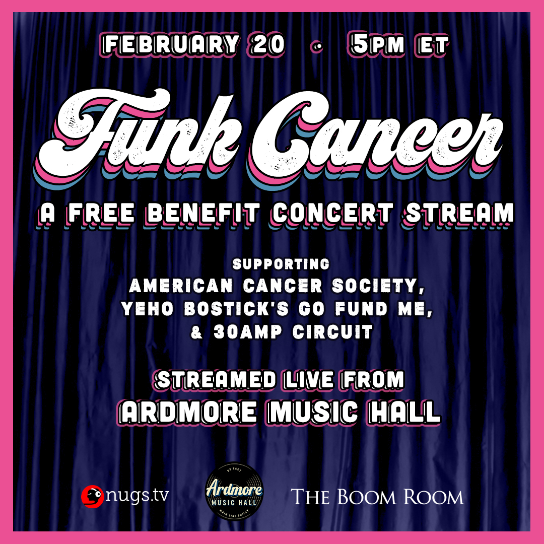 Funk Cancer: A Benefit Concert Stream: Main Image
