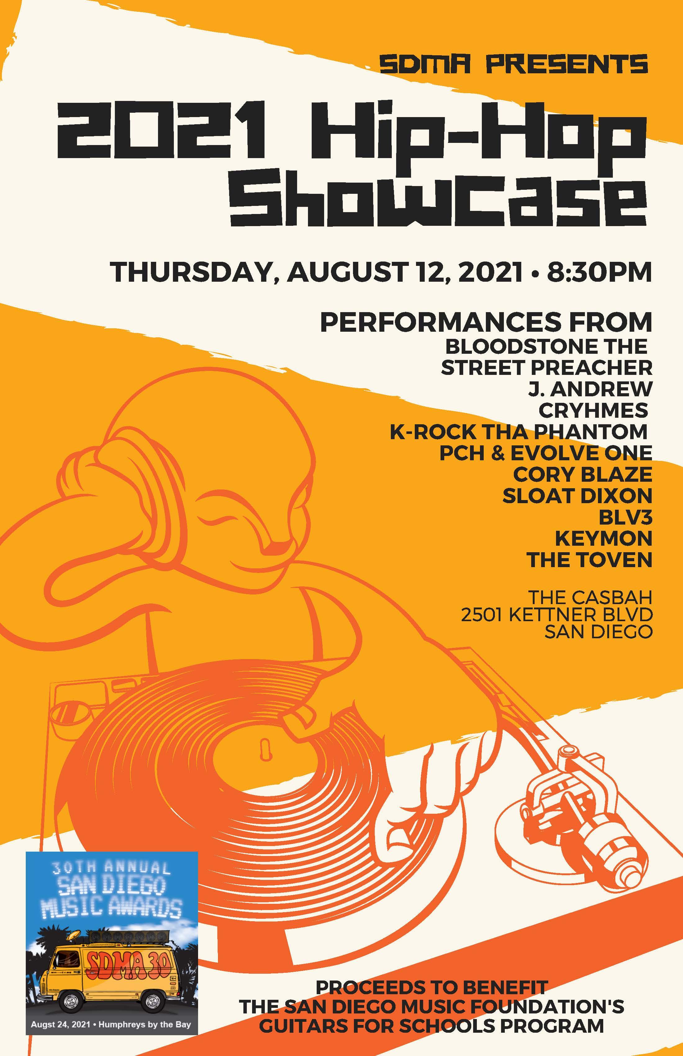 2021 SDMA Hip Hop Showcase: Main Image