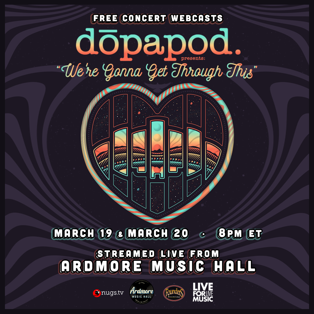 Dopapod FULL BAND LIVE On Stage Webcasts: Main Image