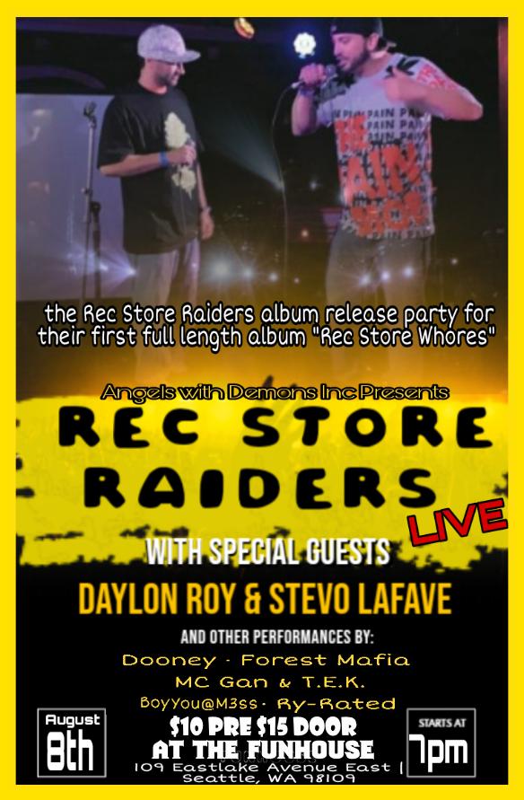 Rec Store Raiders: