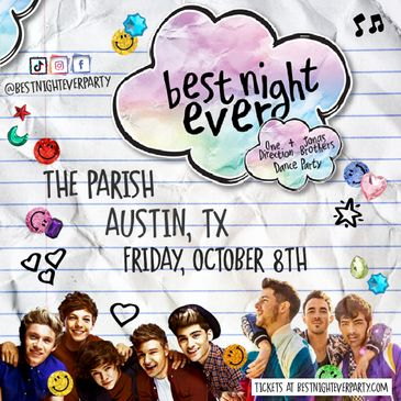 Best Night Ever: One Direction vs. Jonas Bothers Dance Party-img