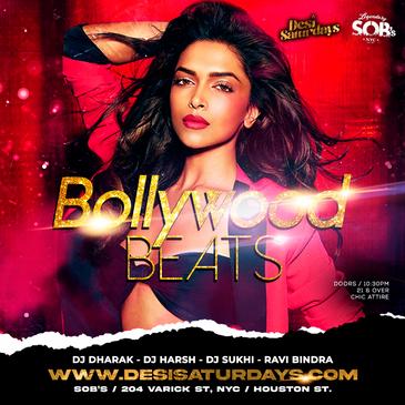 Bollywood Beats: A Weekly Saturday Night DesiParty-img