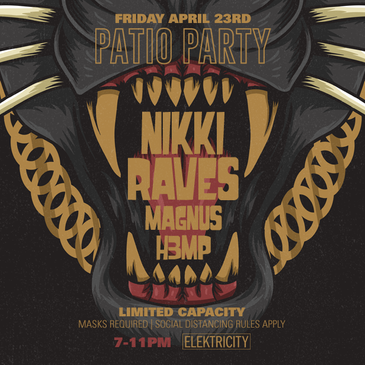 NIKKI RAVES & FRIENDS: PATIO PARTY-img