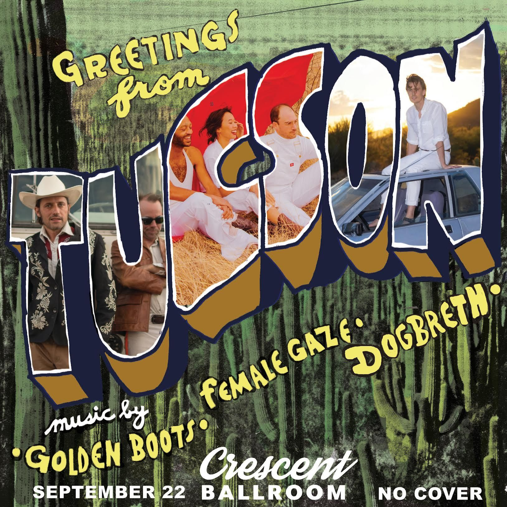 Greetings From Tucson: Golden Boots, Female Gaze, Dogbreth: