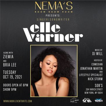 Nema's Boom Boom Room Presents Elle Varner-img