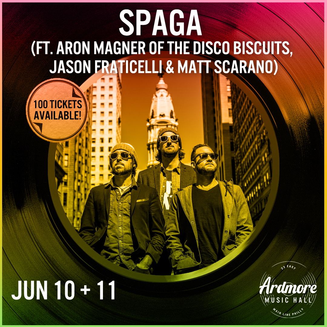 SPAGA (ft. Aron Magner of The Disco Biscuits) & more: Main Image