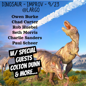 Dinosaur Improv w/ Paul Scheer and Very Special Guests-img