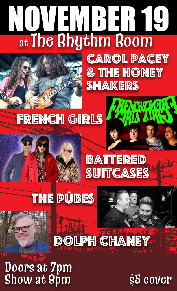 Carol Pacey & The Honey Shakers: