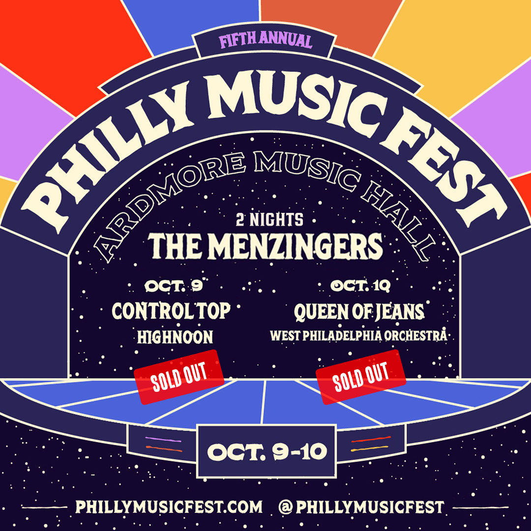 *SOLD OUT* The Menzingers - Philly Music Fest: