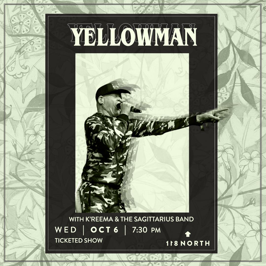 The KING YELLOWMAN Show ft. K'reema & The Sagittarius Band: