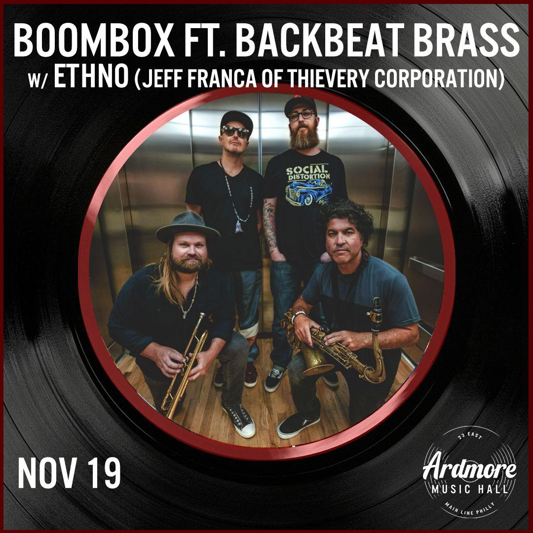 BoomBox ft. BackBeat Brass: