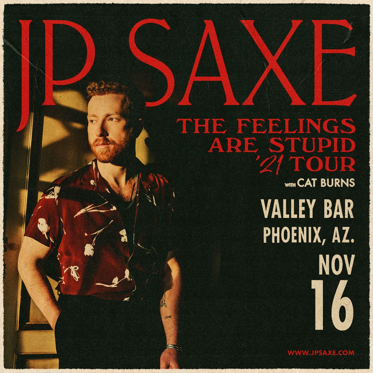 JP Saxe: The Feelings Are Stupid Tour: