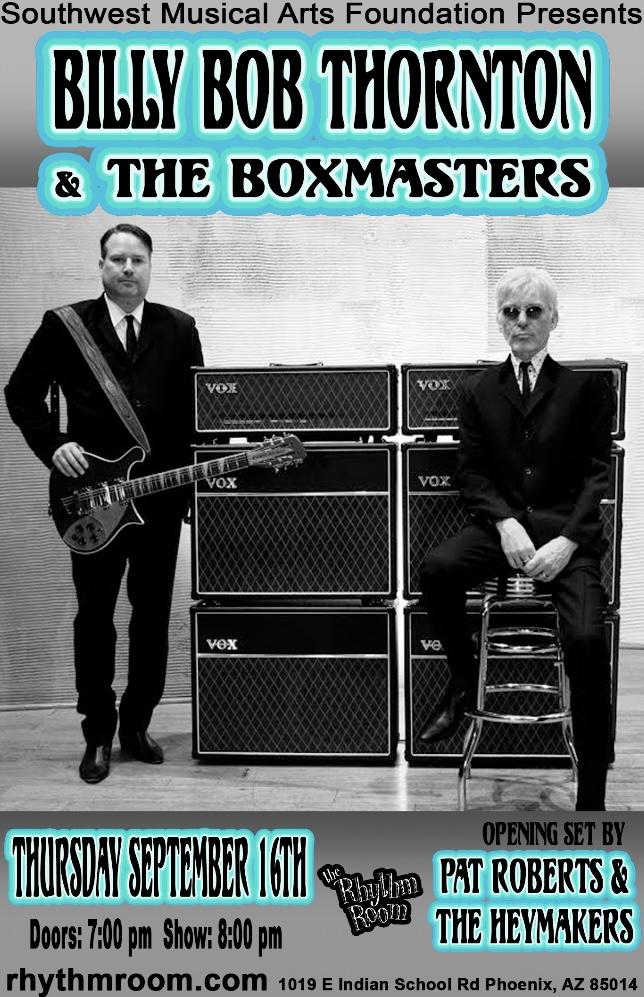 Billy Bob Thornton & The Boxmasters: Main Image