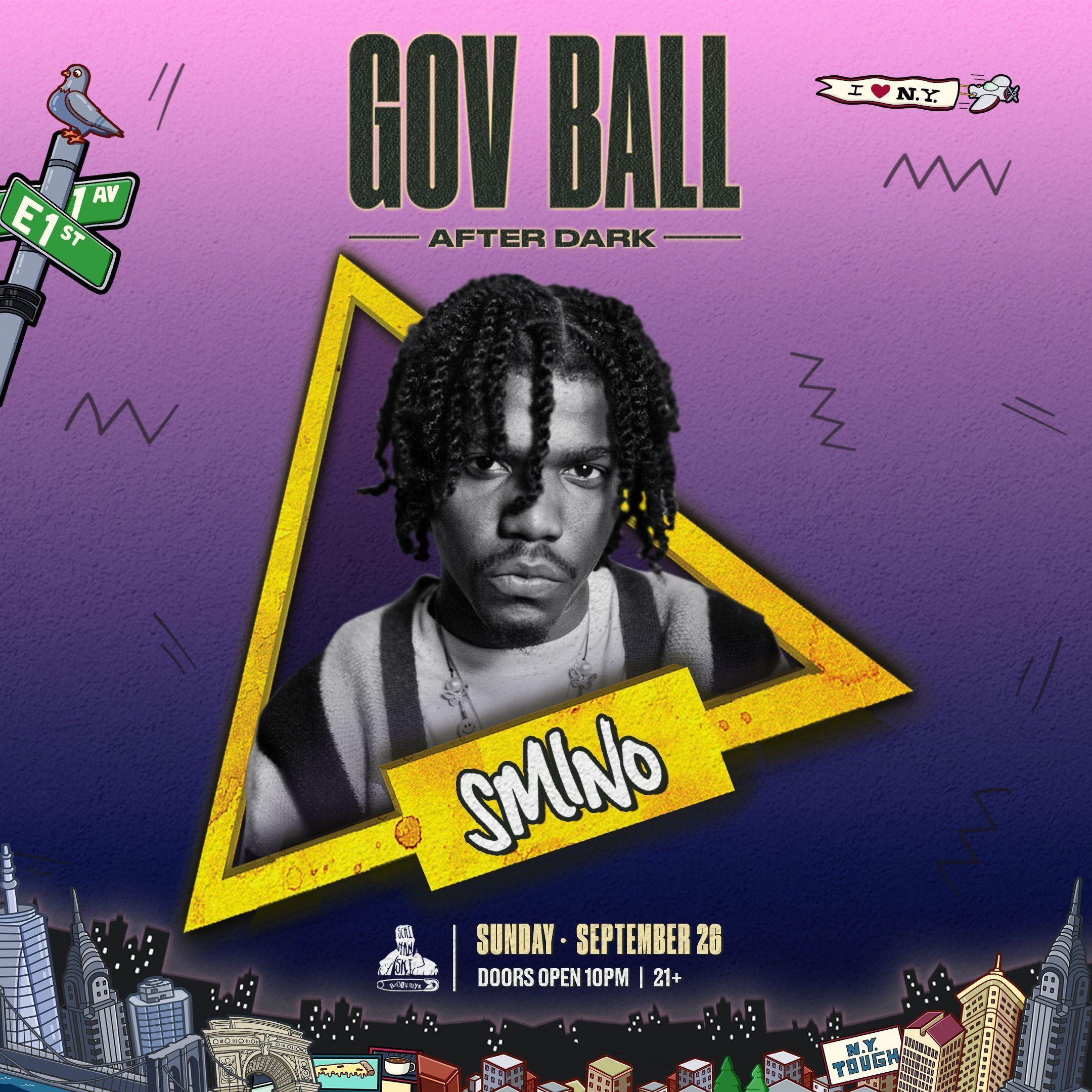Gov Ball After Dark Presents: Smino: