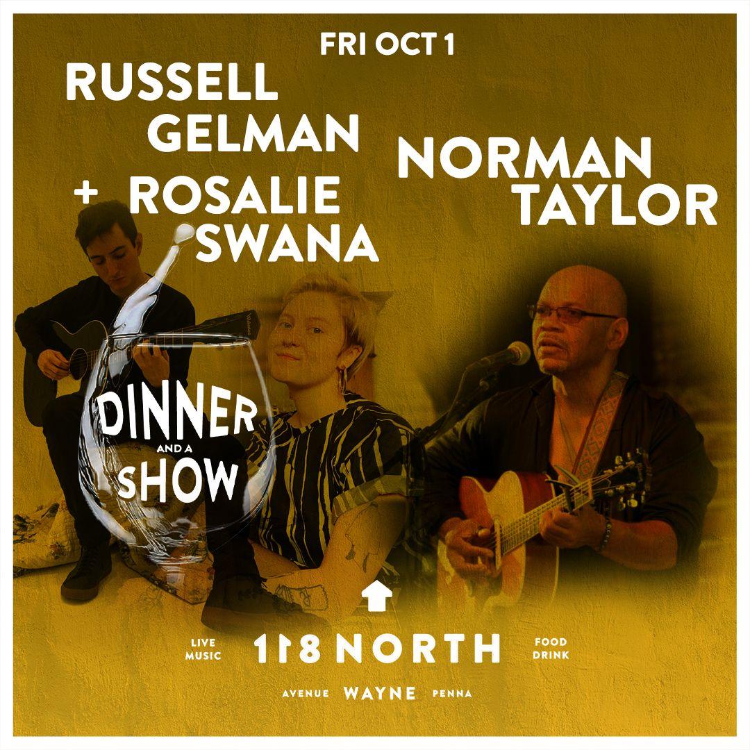 Norman Taylor + Russell Gelman & Rosalie Swana: