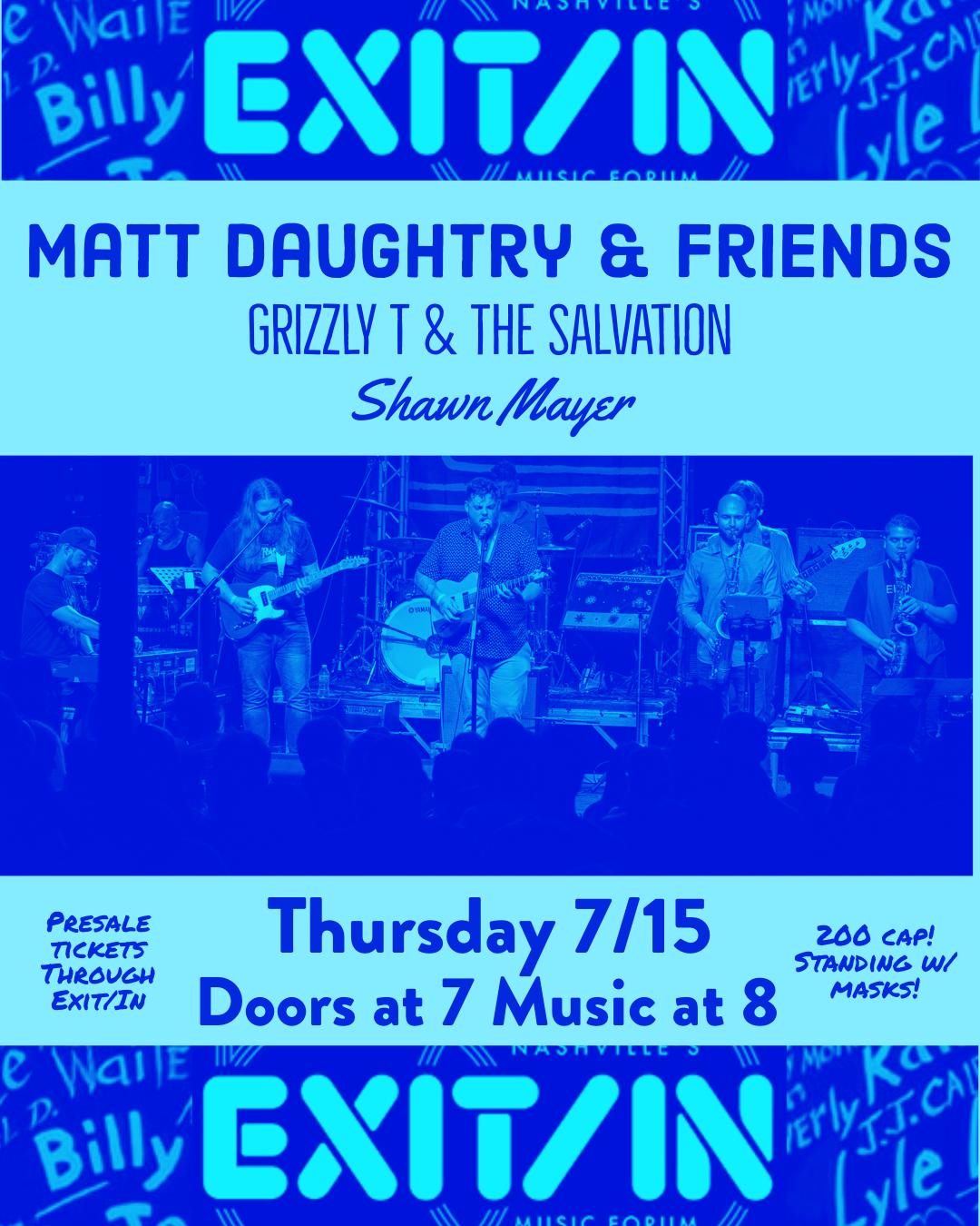 Matt Daughtry and Friends: Main Image