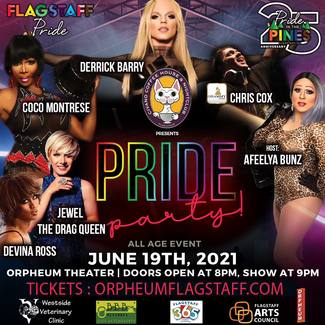 Socially Distanced Pride Party -  SOLD OUT: