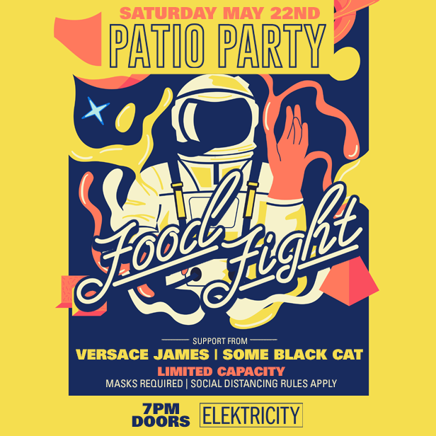 FOOD FIGHT & FRIENDS: PATIO PARTY: Main Image