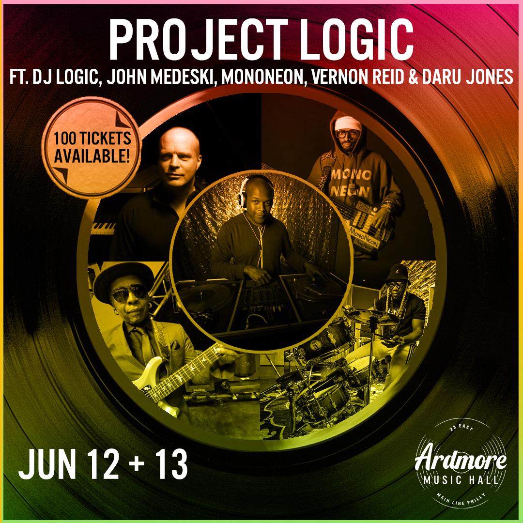 Project Logic: DJ Logic, John Medeski, MonoNeon & more: Main Image