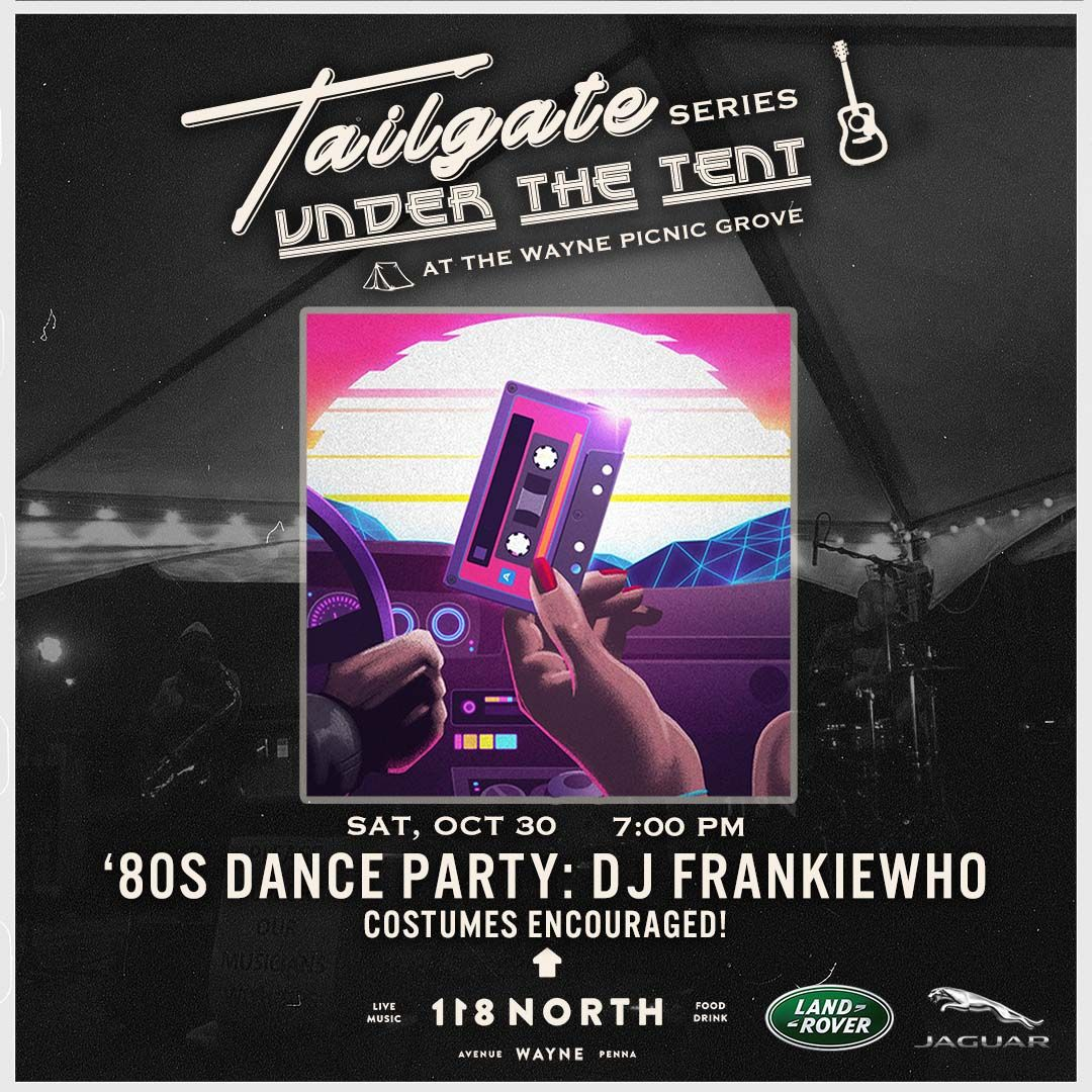 '80s Dance Party with DJ Frankie Who: