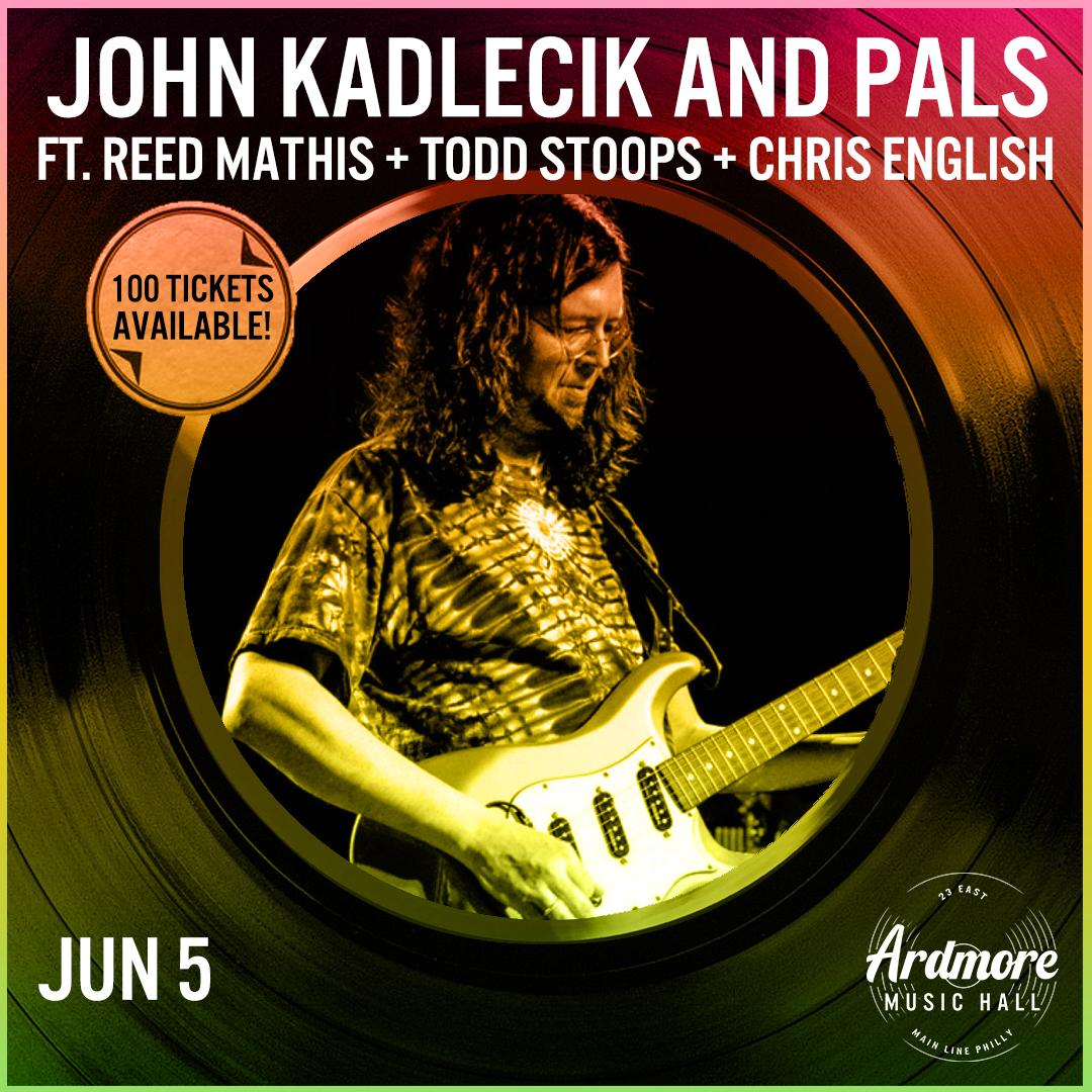 John Kadlecik & Pals: Reed Mathis+Todd Stoops+Chris English: Main Image