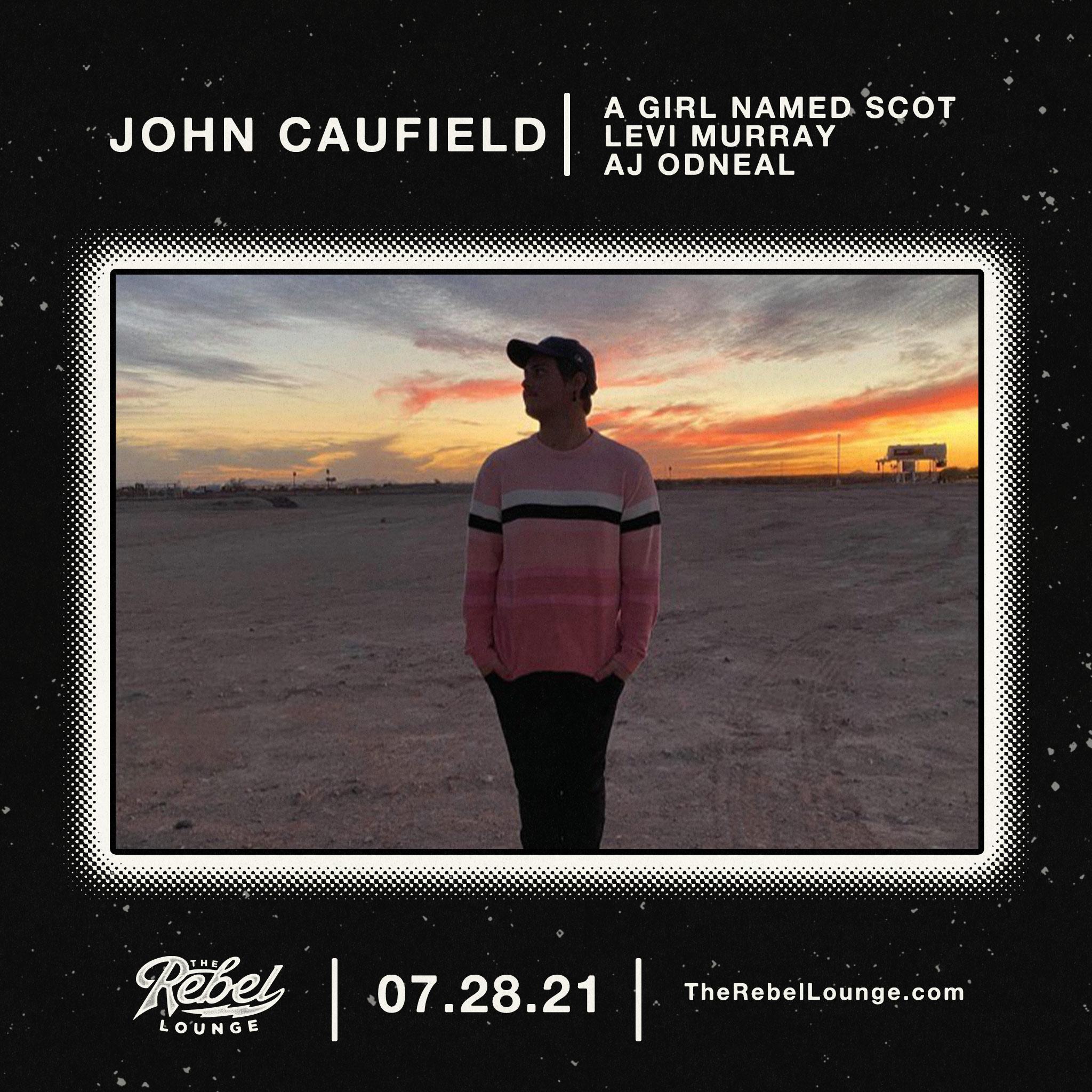 JOHN CAUFIELD: Main Image