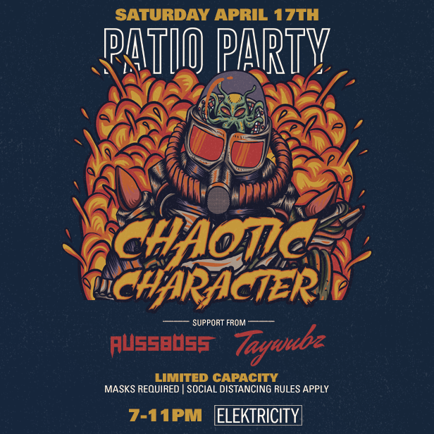 CHAOTIC CHARACTER: PATIO PARTY: Main Image