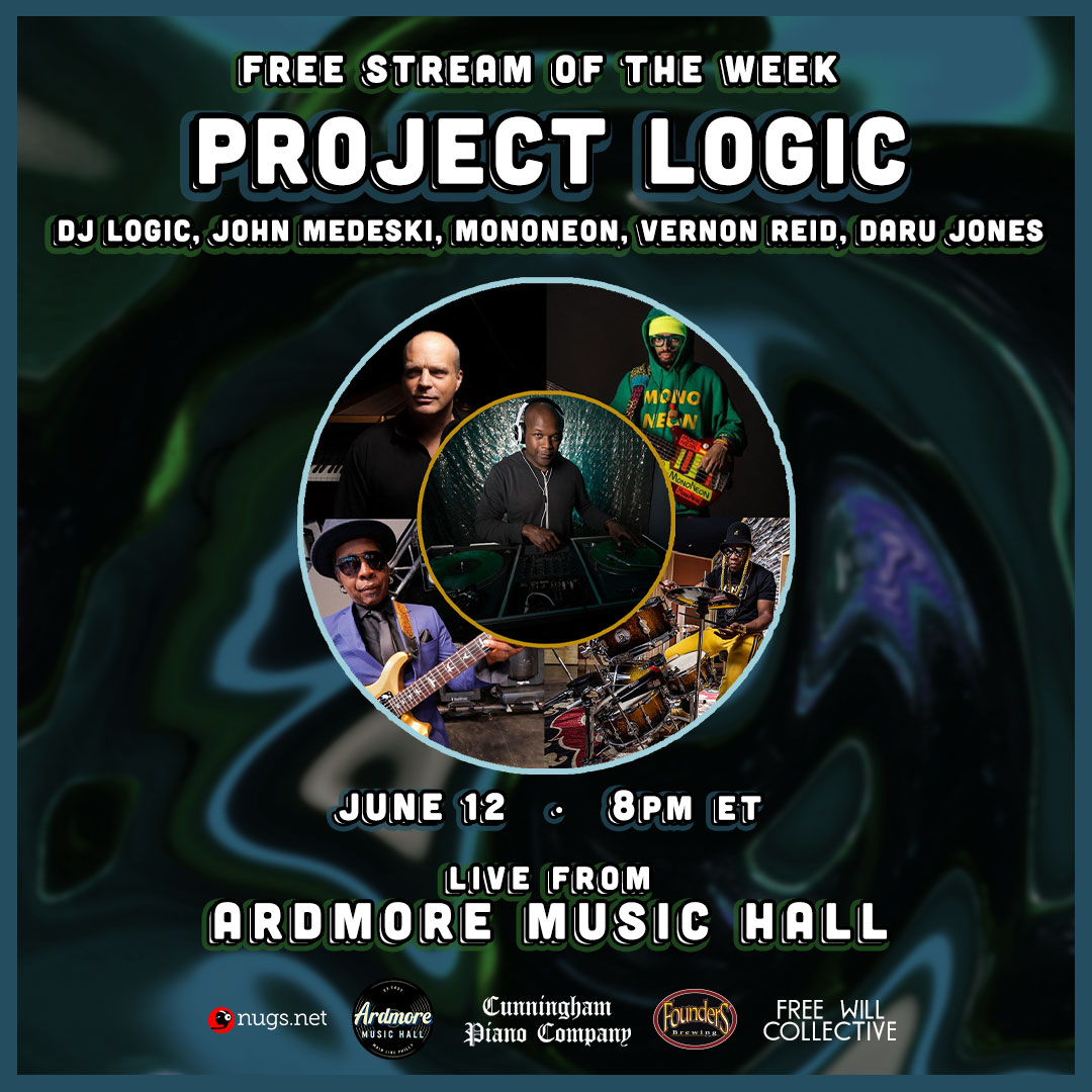 Project Logic ft. DJ Logic: Free LIVEstream: Main Image