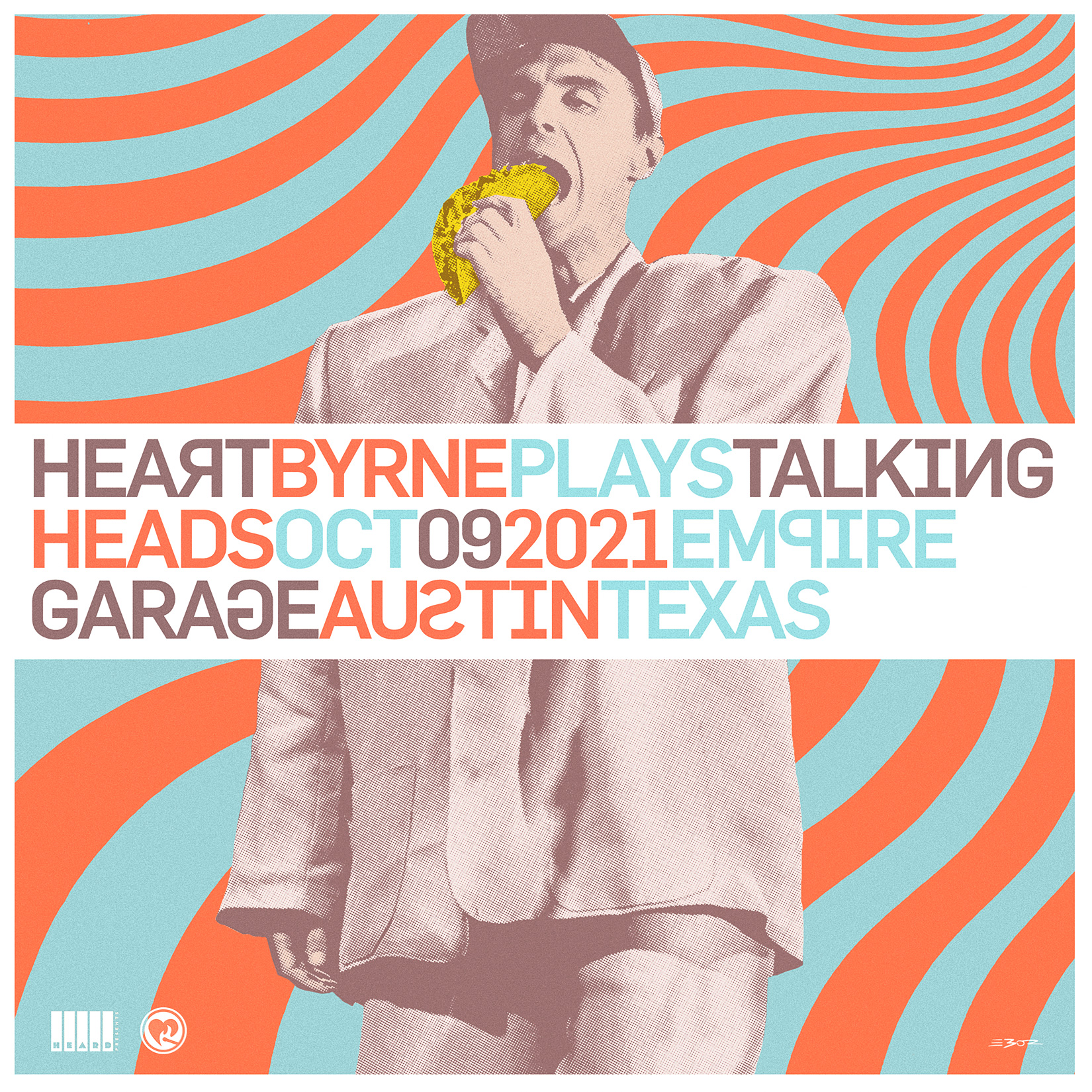HeartByrne: Talking Heads Tribute: