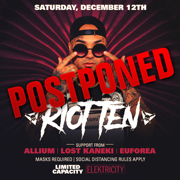 RIOT TEN - Postponed to TBA: Main Image