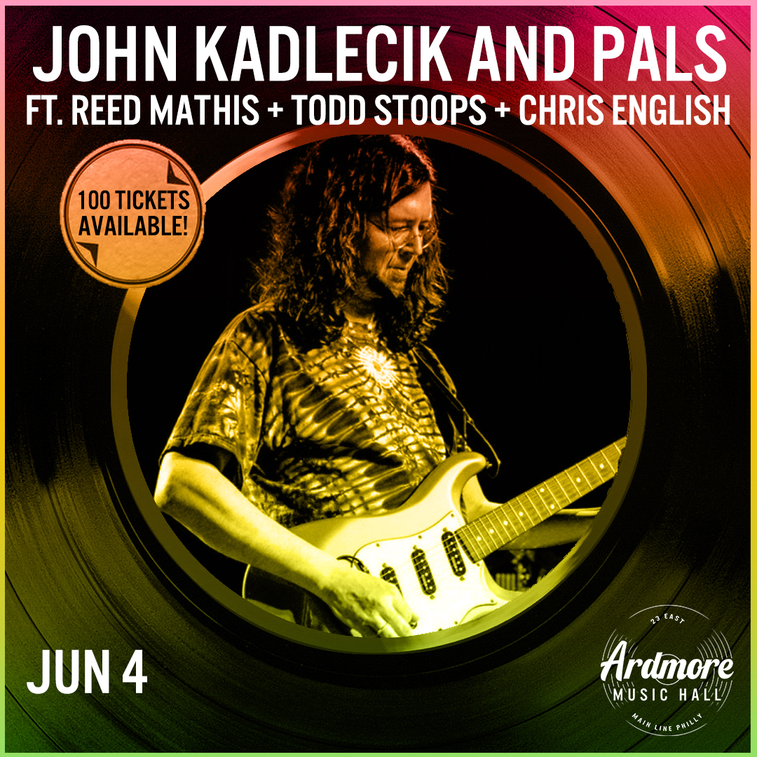 John Kadlecik & Pals: Reed Mathis+Todd Stoops+Chris English: Main Image