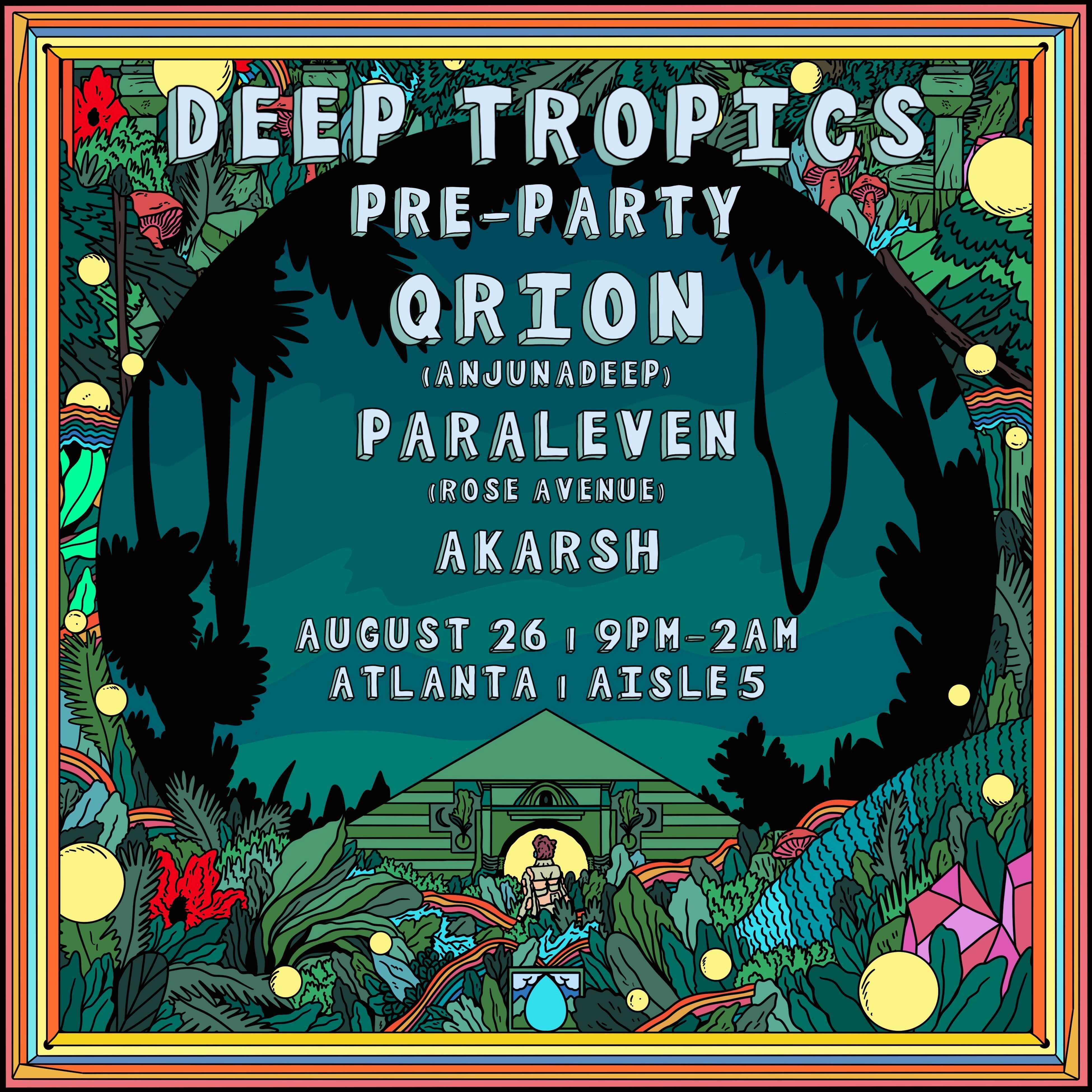 Deep Tropics Pre-Party ft. Qrion: Main Image