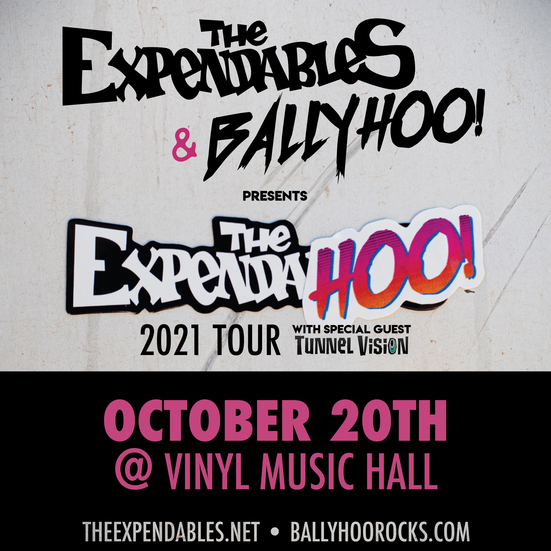 The Expendables & Ballyhoo!- Expendahoo! Tour: Main Image