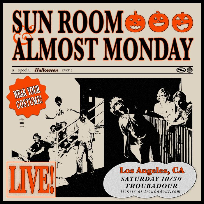 Sun Room & Almost Monday:
