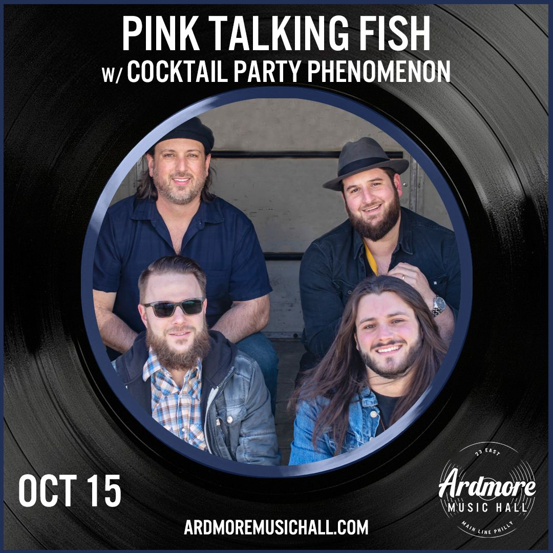 Pink Talking Fish: Pink Floyd, Talking Heads, Phish tribute: