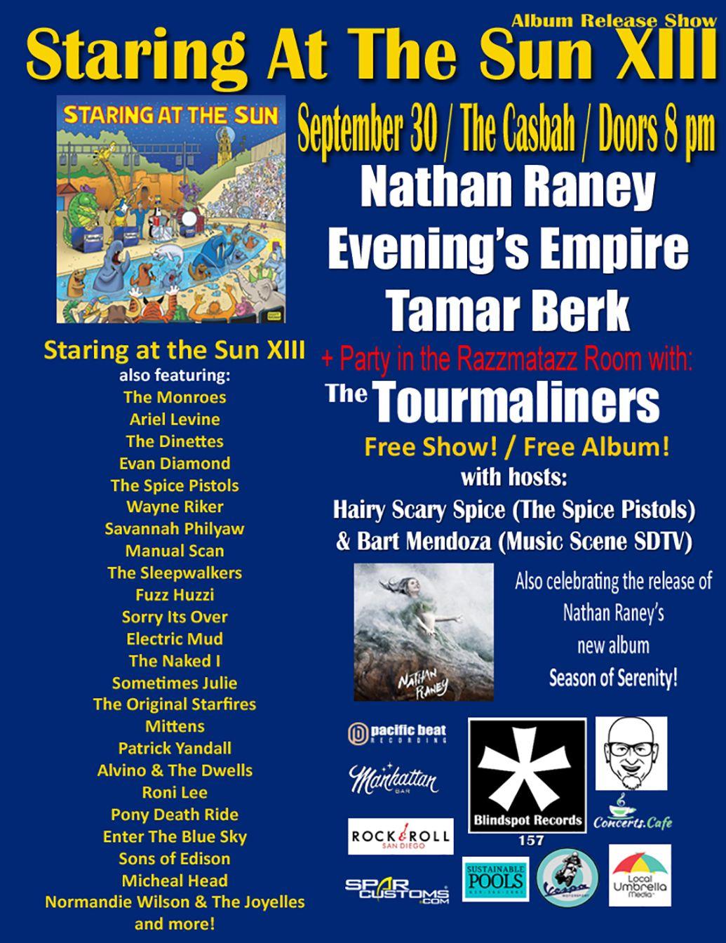 Nathan Raney, Evening's Empire, Tamar Berk: