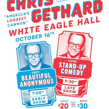 Chris Gethard - America's Loosest Cannon Tour-img