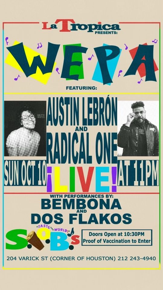 WEPA! Party - CANCELLED: