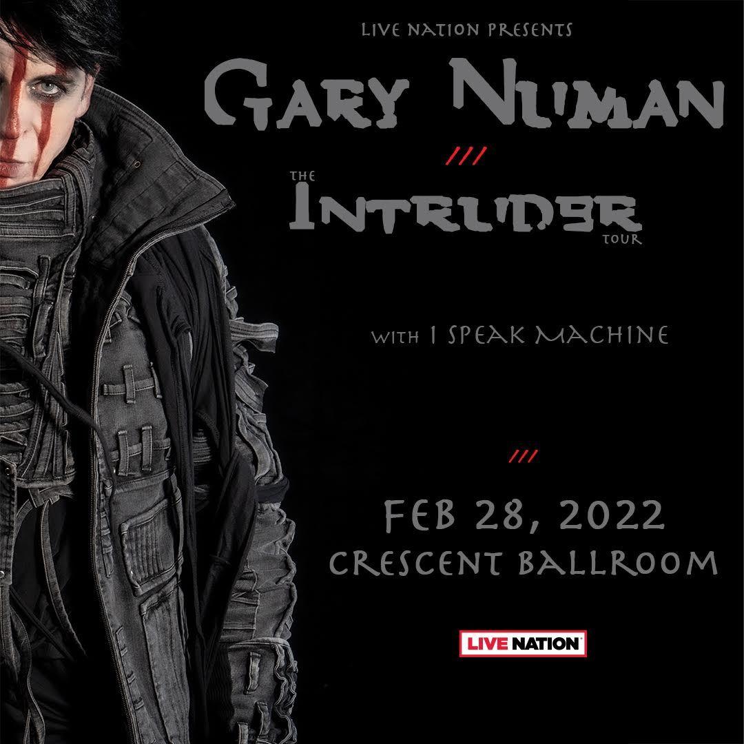 NEW DATE - Gary Numan::